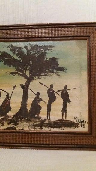 Oleo Africano antiguo