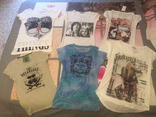 Lote camisetas chica