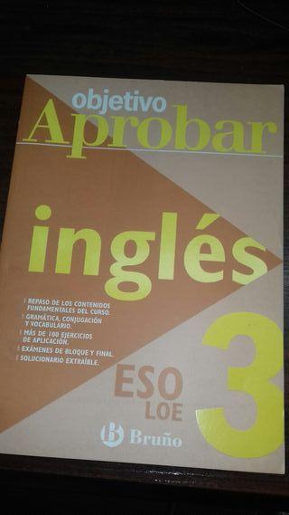 libro. Objetivo Aprobar. Inglés. 3 ESO