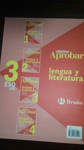 Libro. objetivo Aprobar :lengua y literatura.3ESO