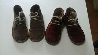 Dos pares zapatos