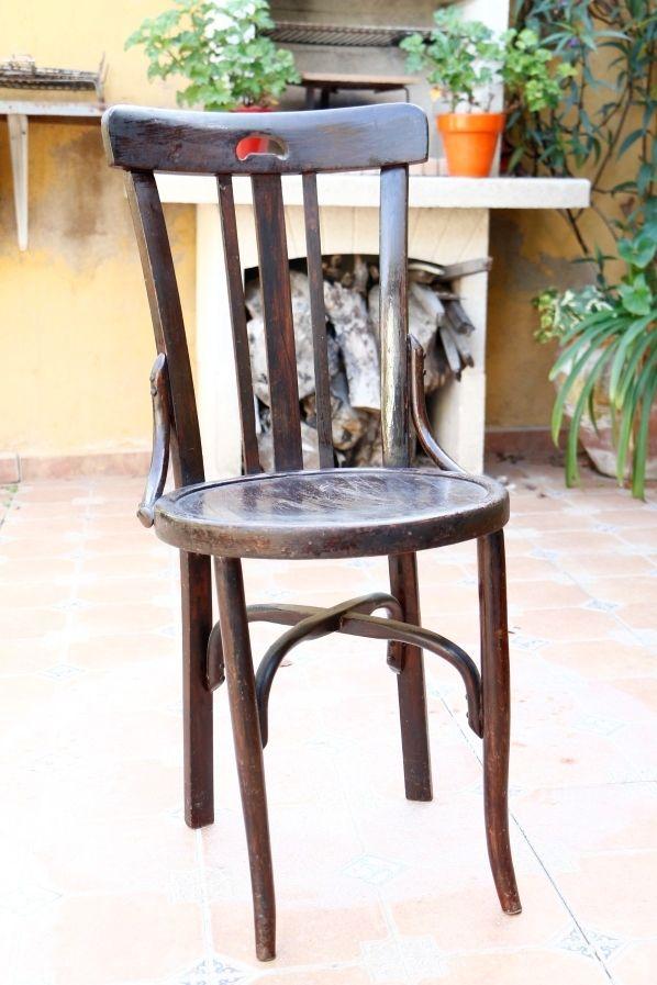 Silla madera antigua de segunda mano por 25 en rincon de for Sillas antiguas segunda mano