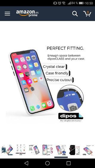 protector cristal iphone X
