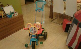 Carro bicicleta Mickey