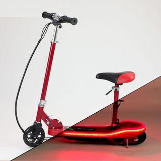 patinete electrico 24v luces led nuevo