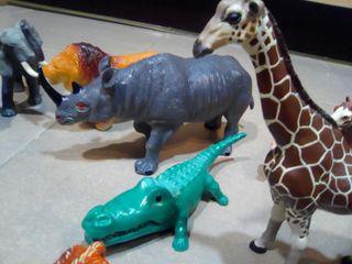 Set 12 figuras de animales