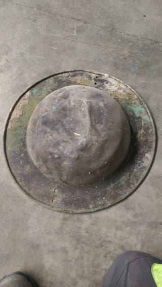 brasero antiguo de laton