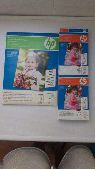 papel fotografico HP