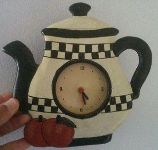 reloj pared cocina decorativo