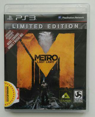 METRO Last Light PS3