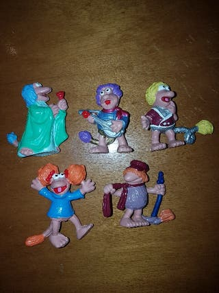 figuras pvc goma Fraggles Rock fraggle variantes
