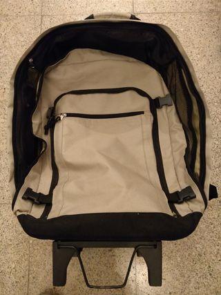 maleta mochila trolley todo en uno