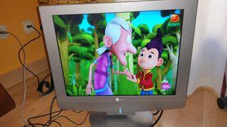 televisión -monitor 20 pulgadas lg lcd plana.