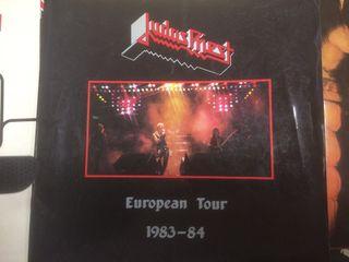 Judas priest tourbook