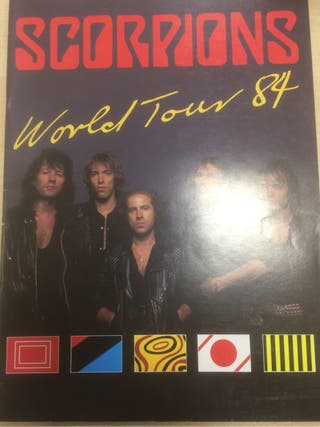 Scorpions tourbook