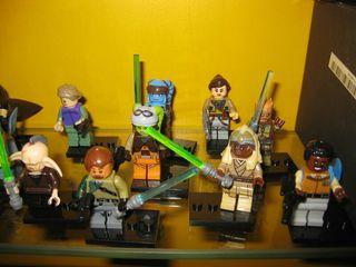 Lego jedi Star wars. todas las figuras