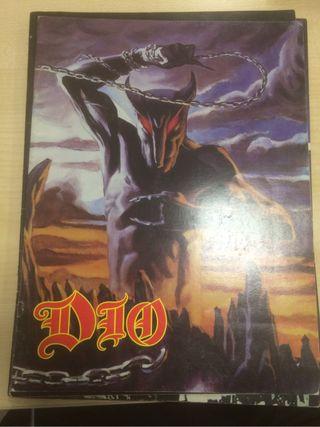 Ronnie james Dio tourbook