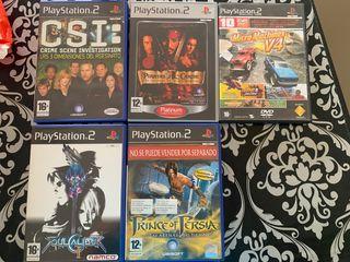 Juegos PlayStation2 originales