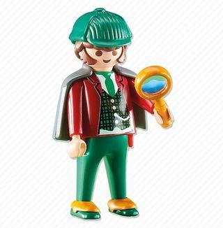 figura playmobil Sherlock Holmes Ref 6525