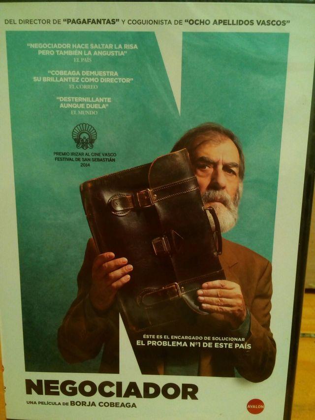 """DVD NUEVO """"Negociador"""""""