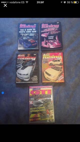Dvd's coches tuning