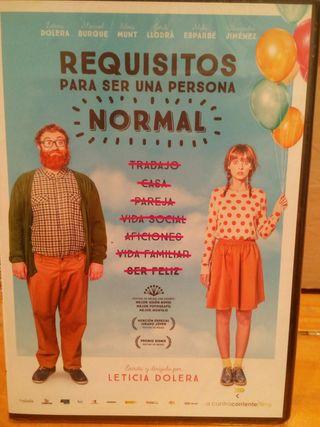 """DVD Nuevo """"Requisitos para ser una persona normal"""""""
