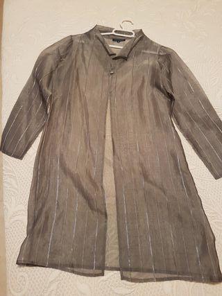 vestido y abrigo adolfo dominguez