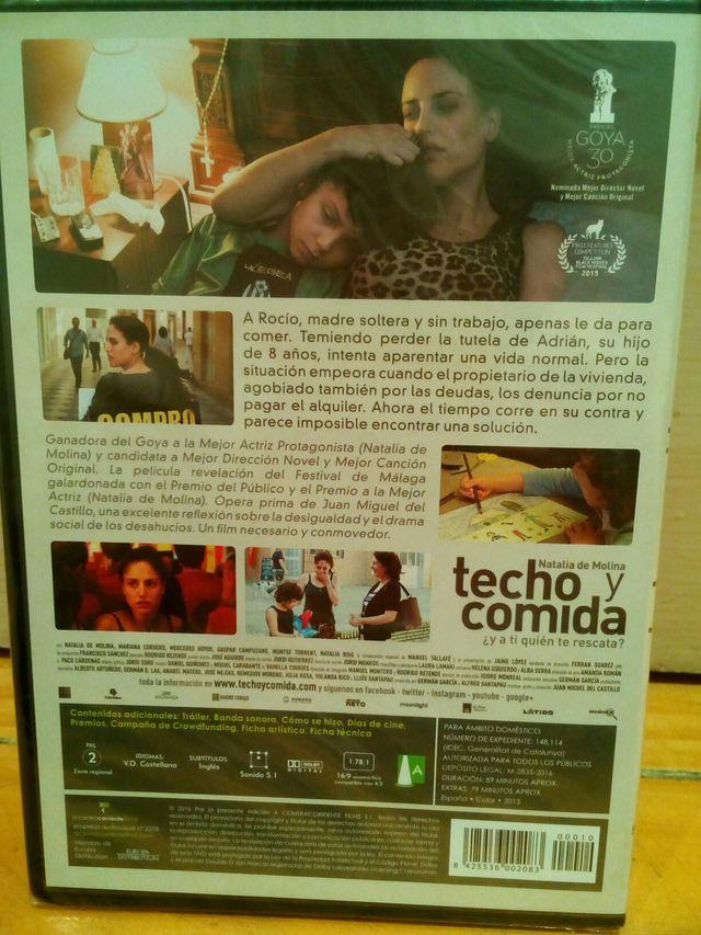 """DVD Nuevo """"Techo y Comida"""""""