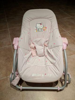 Hamaca rosa Hello Kitty