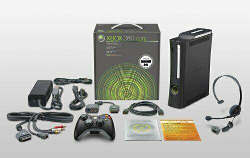 Xbox 360 (+) 120 Gb disco