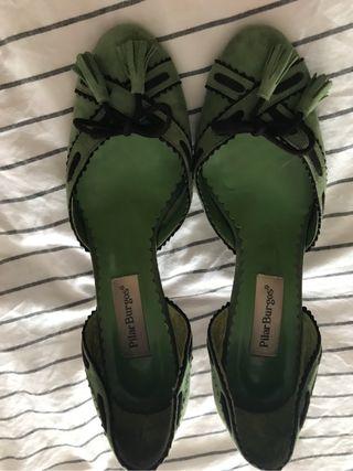 Zapatos de tacòn