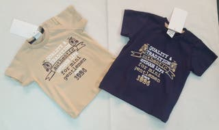 camiseta manga corta nuevas bebe niño