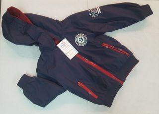 chaqueta reversible bebe niño nueva