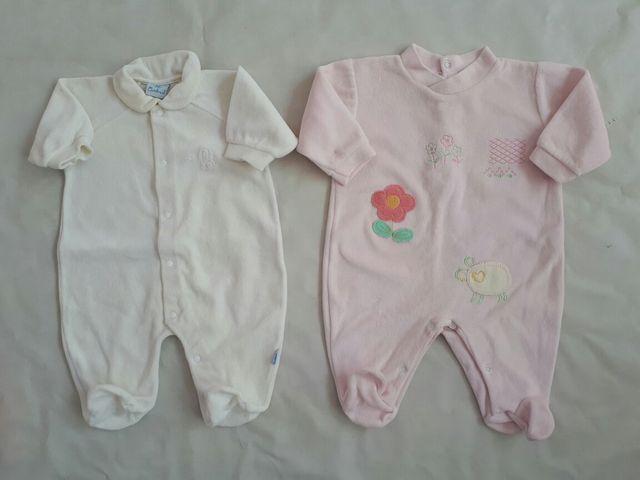 ropa de bebe 1 mes