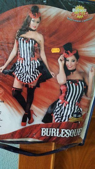disfraz de burlesque