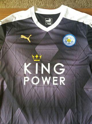Camiseta fútbol Leicester. a estrenar talla L