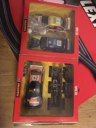 Scalextric Kit rally y C2