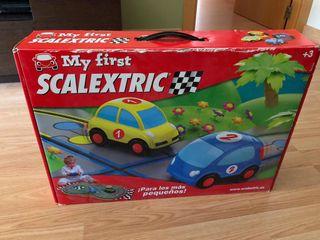 Scalextrix niños