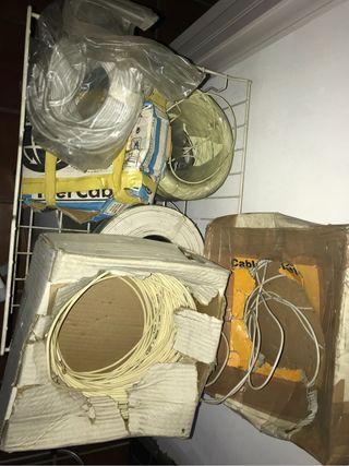 Bobinas de Cables de telf y corriente