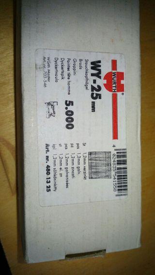 Clavo wurth wy-25 mm
