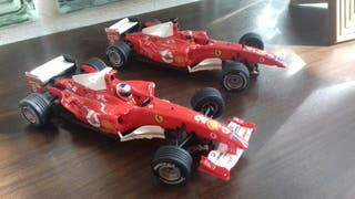 Coches scalextric f1 tecnitoys