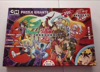 Puzzle gigante Bakugan 250 piezas.