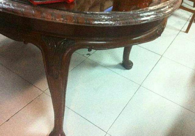 Mesa comedor antigua madera de segunda mano por 45 € en Martorell en ...