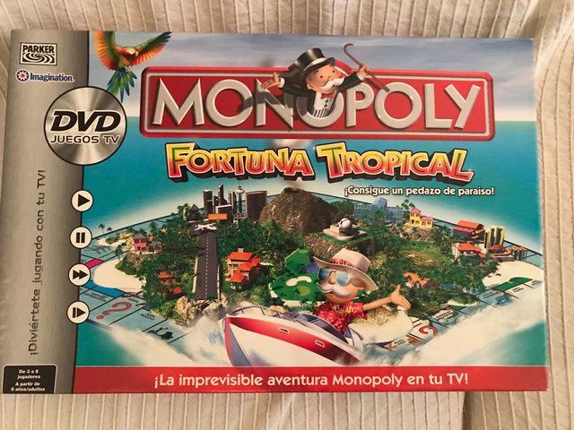 Juego Mesa Monopoly Tropical De Segunda Mano Por 15 En Sabadell En