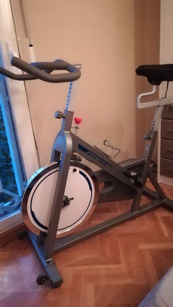 Bicicleta estática para spining