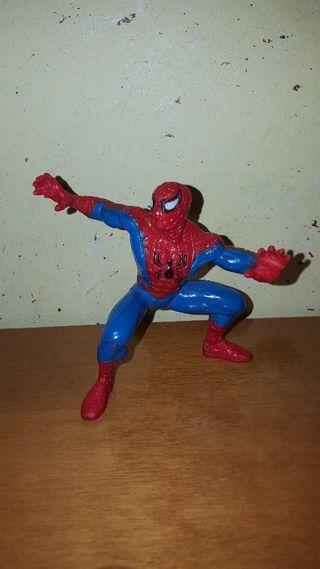 figura pvc goma Spiderman Marvel superhéroe
