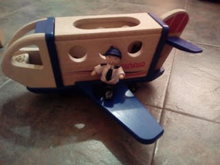 avión madera