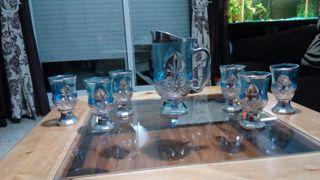 juego de jarra y copas Marruecos