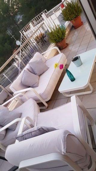 Muebles terraza de segunda mano por 300 en gand a wallapop for Vendo muebles terraza