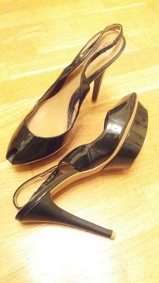 charol zara de 41 Zapatos verdes t qwBg4qaxS